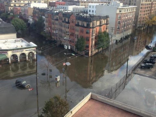 Hoboken Sandy Flooding Hurricane Sandy Hoboken Jersey